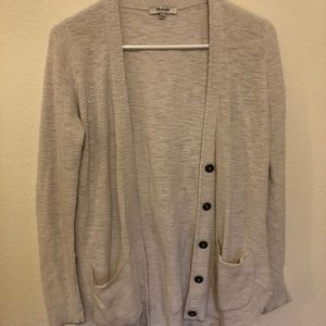 Madewell Midweight Cardigan